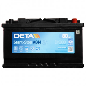 Acumulator DETA DK800 MICRO-HYBRID AGM
