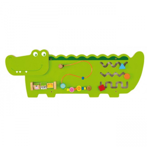 JUCARIE LOGICA VIGA WALL TOY-CROCODILE (50469)