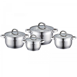 Cratita PETERHOF PH-15805 (SET) inox 4 buc