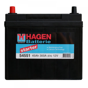Acumulator HAGEN 54551 STARTER JAP-USA