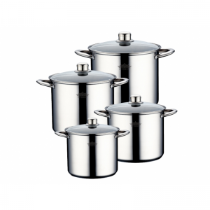 Cratita PETERHOF PH-15171 (SET) inox 4 buc