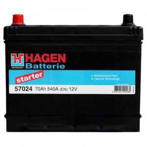 Acumulator HAGEN 57024 STARTER JAP-USA