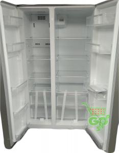 FRIGIDER MIDEA SBS689W GLASS cu congelator A+
