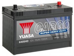 Acumulator YUASA CARGO SHD 640SHD