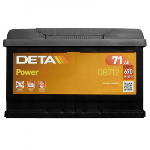 Acumulator DETA DB712 POWER EUR