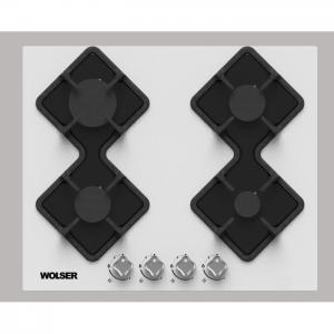 Plita WOLSER WL-F 6401 GT W Incorporabila Gaz