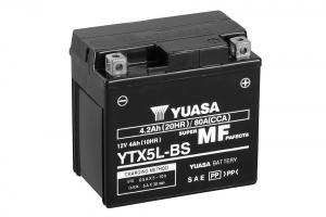 Acumulator YUASA MF VRLA YTX5L-BS