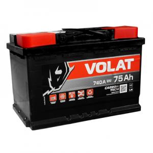 Acumulator VOLAT 6CT 75 AH R+