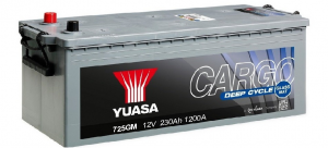 Acumulator YUASA GM CARGO DEEP CYCLE 725GM