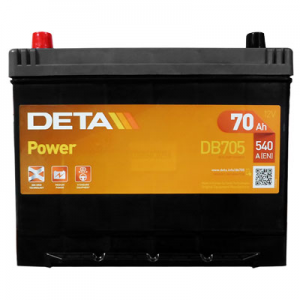 Acumulator DETA DB705 POWER JAP-USA