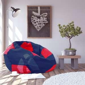 Bean Bag   BALL Albastru Rosu