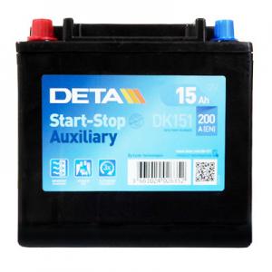 Acumulator DETA DK151 START&STOP AUXILIARY