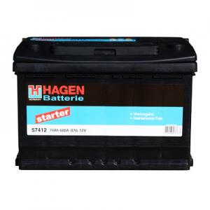Acumulator HAGEN 57412 STARTER EUR