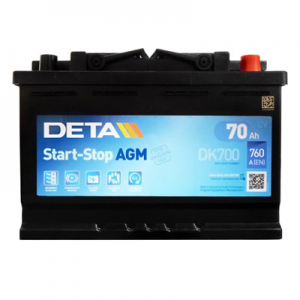 Acumulator DETA DK700 MICRO-HYBRID AGM