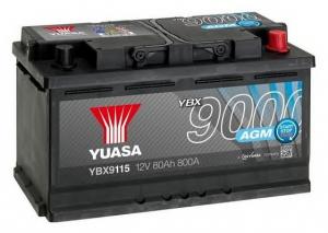 Acumulator YUASA 9000 AGM YBX9115