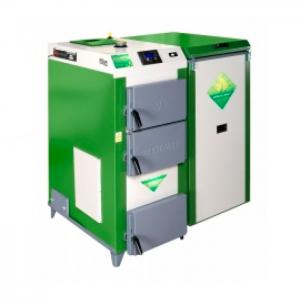 Cazan pe combustibil solid DREWMET MJ-ECONOMIK 35 KW 3.0 KW U (LA COMANDA)