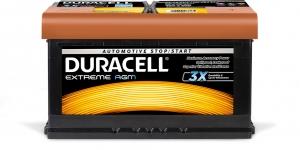 Acumulator DURACELL EXTREME 12V DE80 AGM